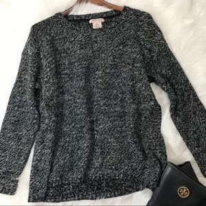 Philosophy Marbled Loose and Chunky Sweater
